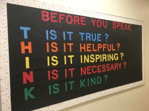 Another great bulletin board. Thanks Mrs. King:)